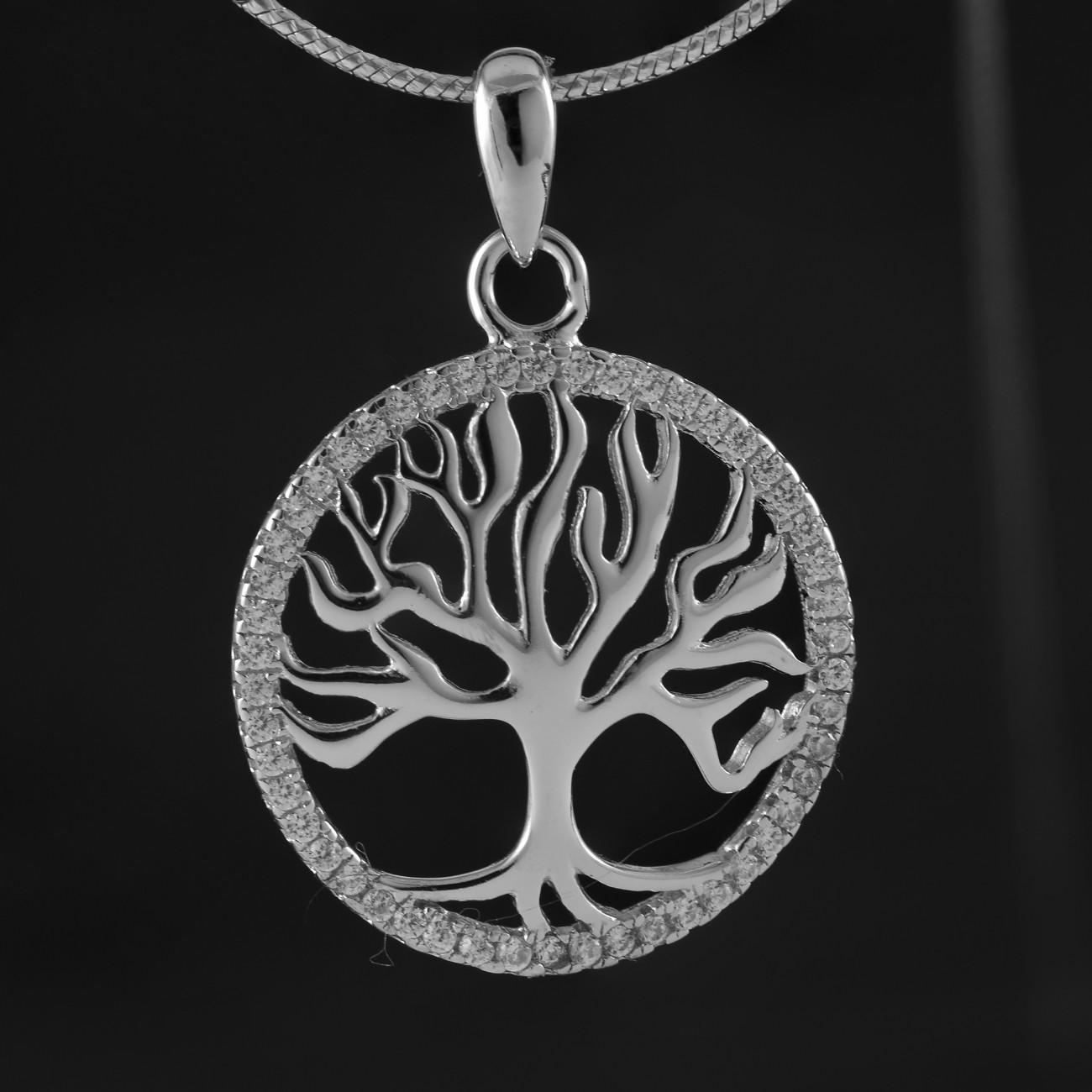 Strom života přívěsek z pravého stříbra