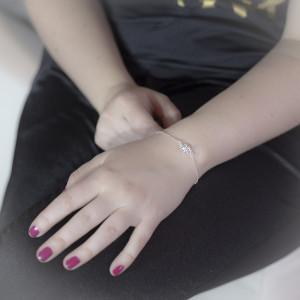 Stříbrný náramek Savour silver elephant