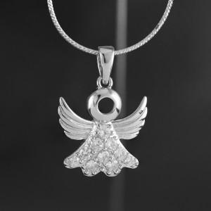 Stříbrný přívěsek anděl Savour