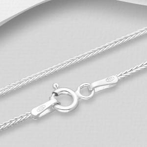 Luxusní, stříbrný řetízek Savour  50 cm